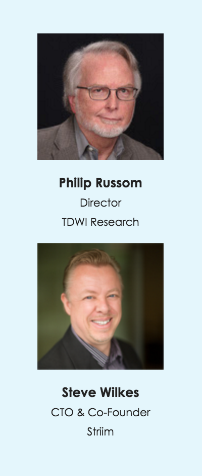 Philip Russom and Steve Wilkes on Data Integration and Analytics