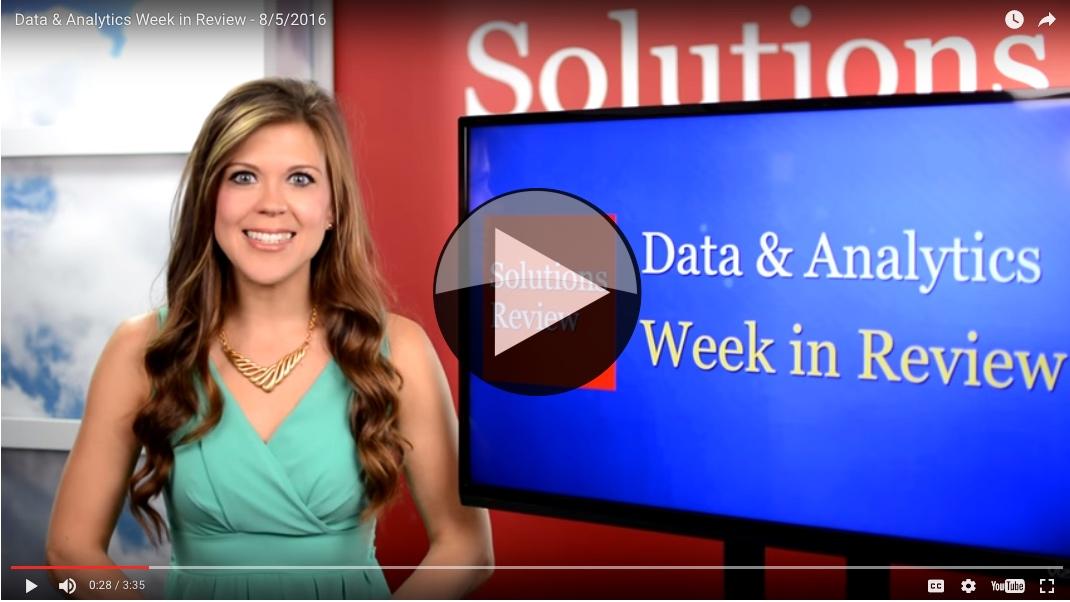 Data Analytics Week in Review