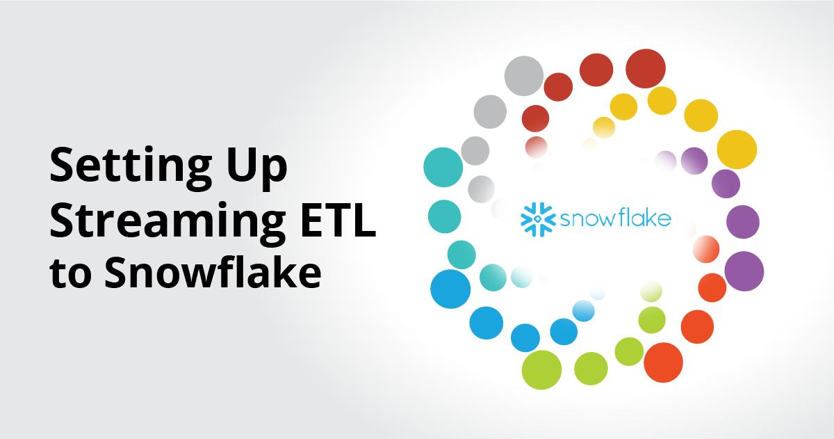 Streaming ETL to Snowflake