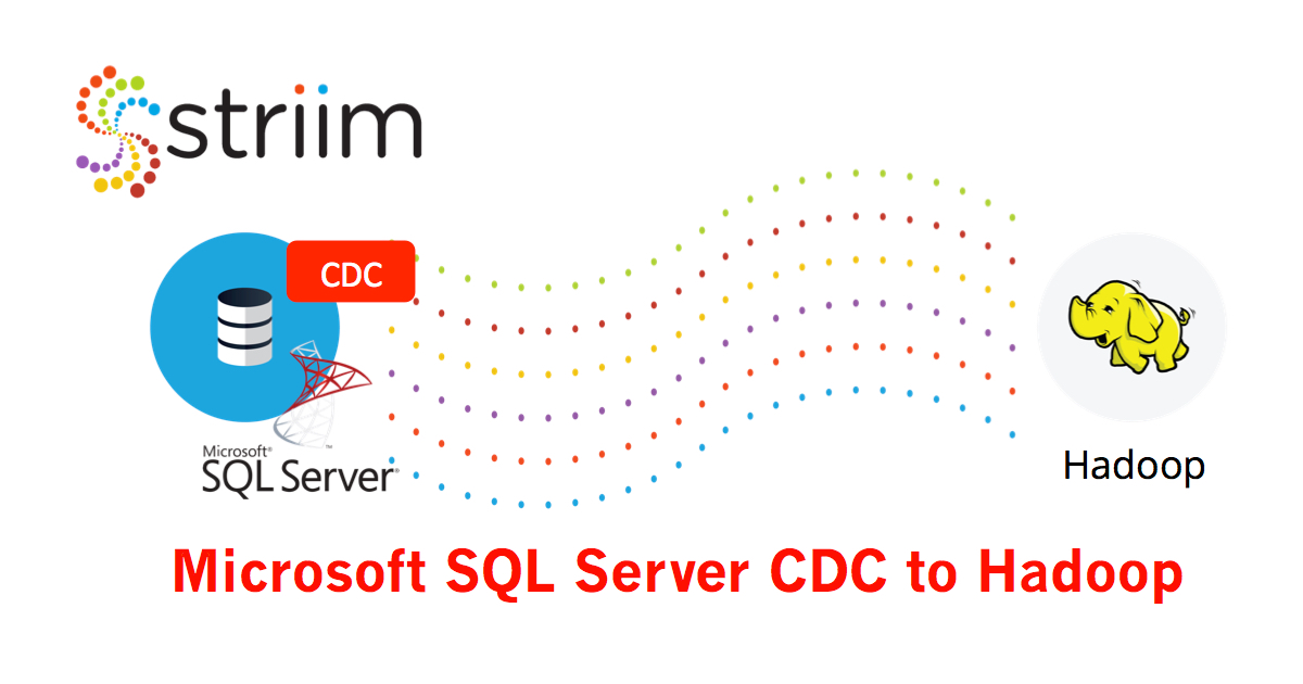 MS SQL CDC to Hadoop