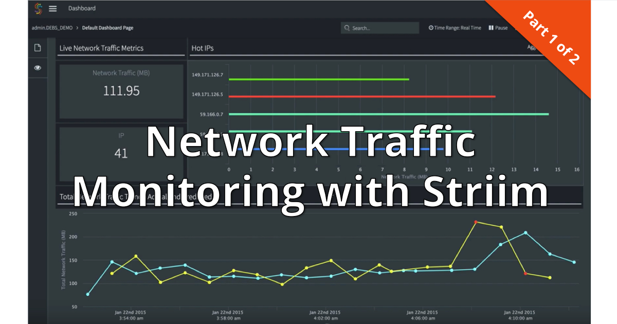 Network Traffic Monitoring with Striim 1